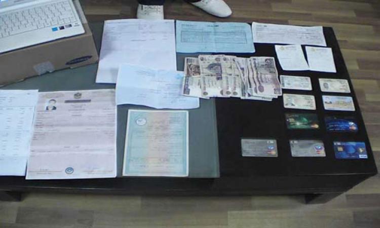 ضبط متخصص في تزوير المستندات الحكومية بالإسكندرية بحوزته 54 بطاقة رقم قومي