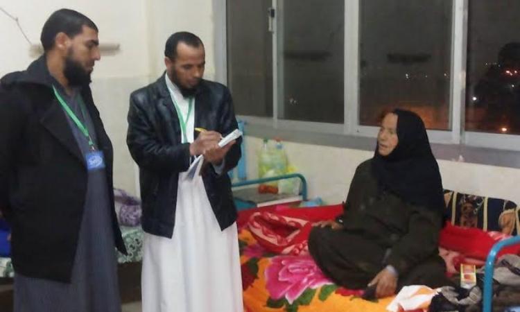 الدعوة السلفية بالفيوم تواصل تواصلها مع المرضى بمستشفى طامية العام.
