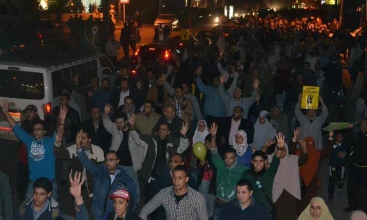 أمن الإسكندرية يفرق مسيرات للإخوان ويضبط 25 منهم