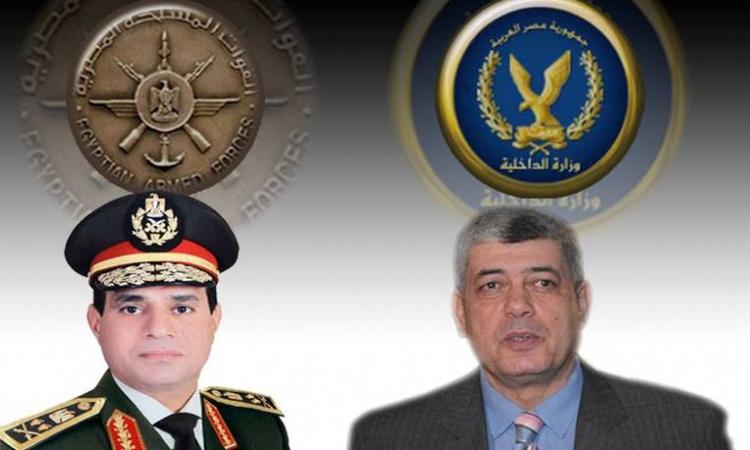"""خناقة """"الجيش والشرطة"""" بامبابة تشعل مواقع التواصل الاجتماعي"""