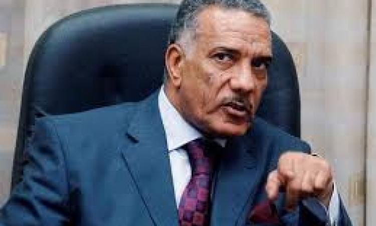 وصول المستشار زكريا عبد العزيز إلى دار القضاء العالي للتحقيق معه