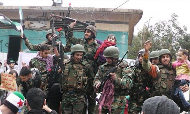 إشتباكات بسبب المناصب بين أعضاء الجيش السورى الحر