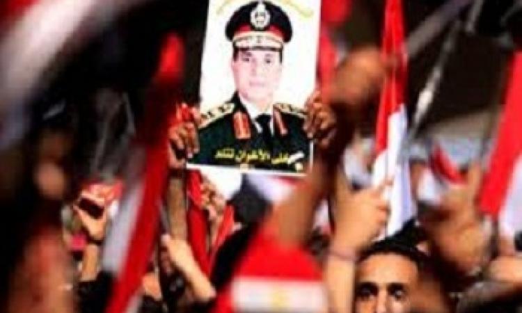 الدقهلية تحتفل بترشح السيسى للرئاسة