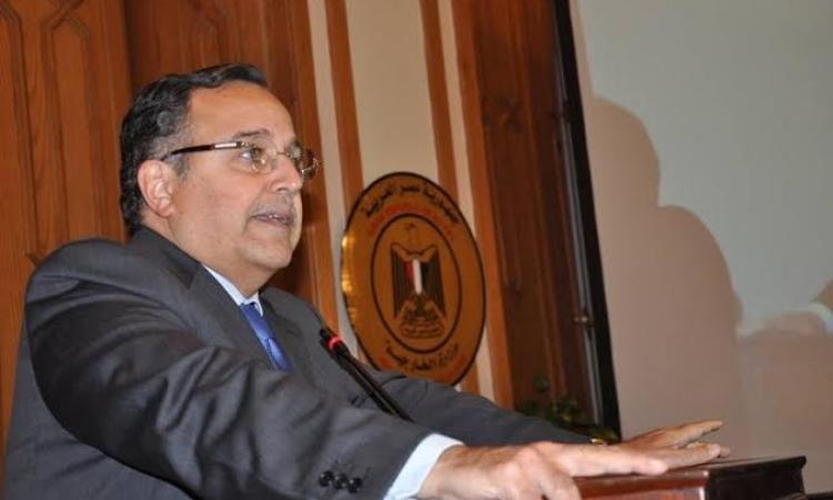 وزير الخارجية يدلى بصوته فى الانتخابات الرئسية بسفارة مصر في سلوفاكيا