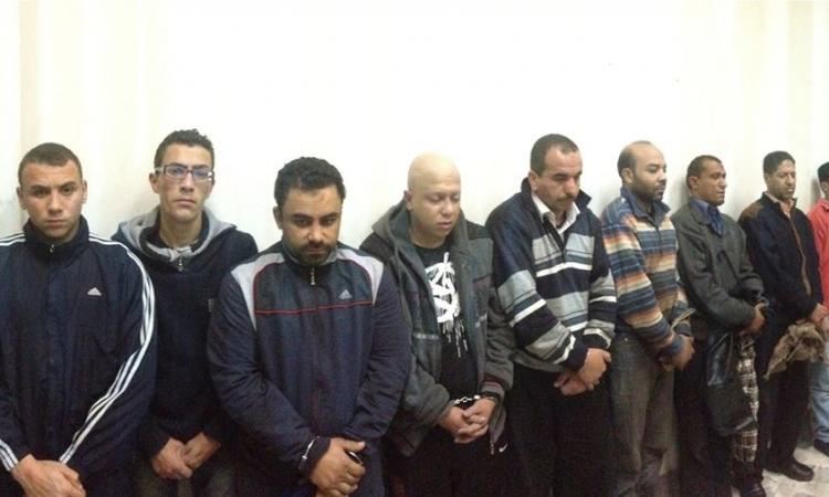 بالصور..القبض على تشكيل عصابي ارتكبوا 6 عمليات إرهابية بالإسكندرية