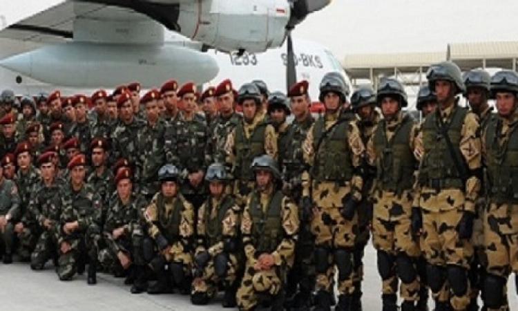 """أنشطة مكثفة للقوات المصرية والإماراتية خلال المناورة المشتركة """"زايد1 """""""