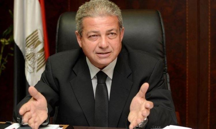 وزير الشباب والرياضة في جولة تفقدية  للمنشآت الرياضية بجنوب سيناء