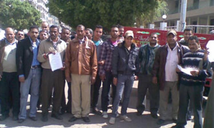 لليوم الثامن علي التوالي.. استمرار إضراب موظفي بريد الإسكندرية
