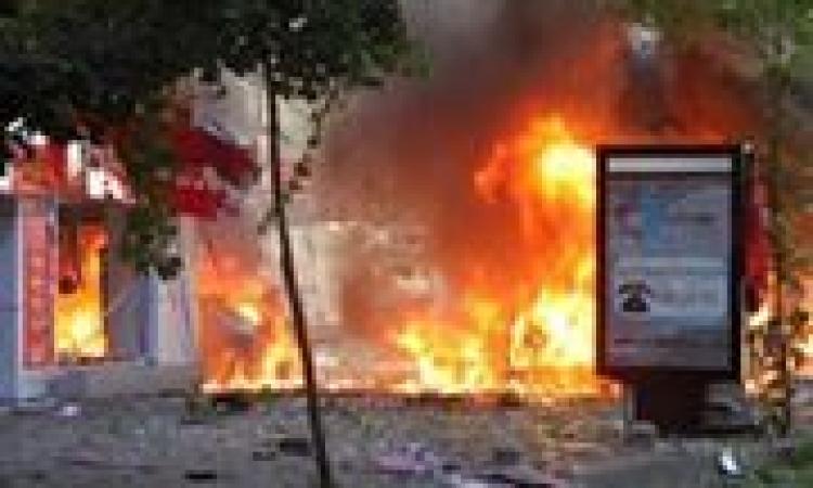 انفجار كابينة كهرباء على يد مجهولين ببورسعيد