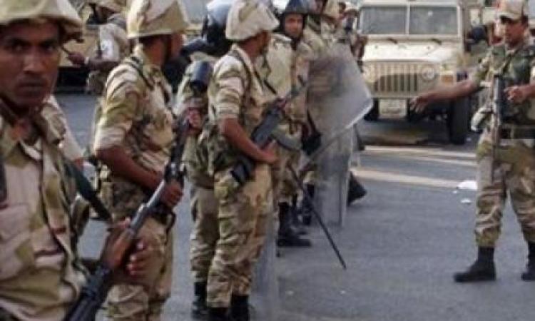 مشاجرة بين أفراد الجيش والشرطة بقسم شرطة إمبابة