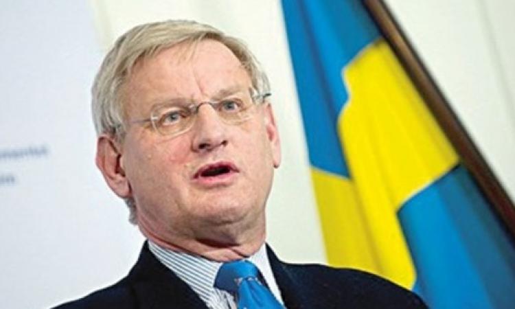 """وزير الخارجية السويدي """" يحلل """" أزمة أوروبا في أوكرانيا"""