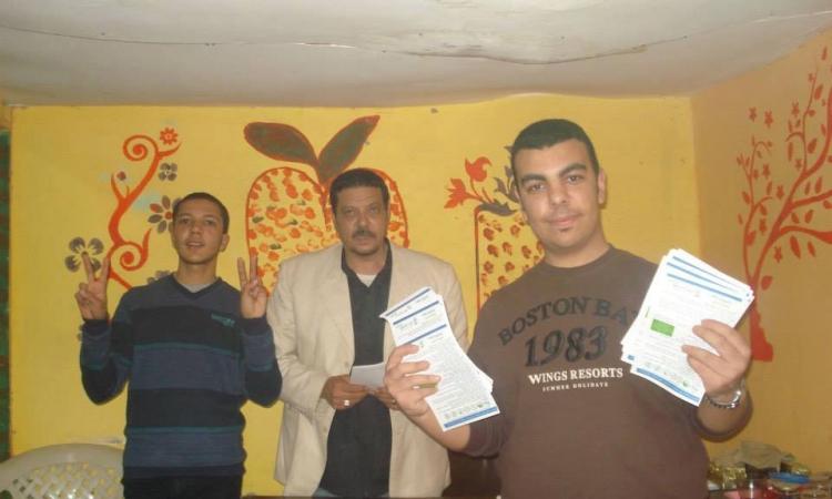 بالصور.. الدستو يطلق حملة للتوعية من مرض انفلونزا الخنازير بكفر الشيخ