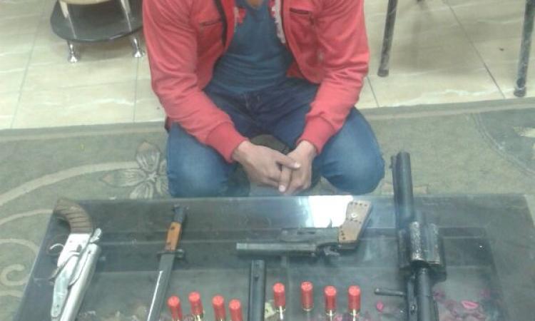 ضبط إخواني متهم بإطلاق الرصاص علي الشرطة بحوزته بندقية وخرطوش