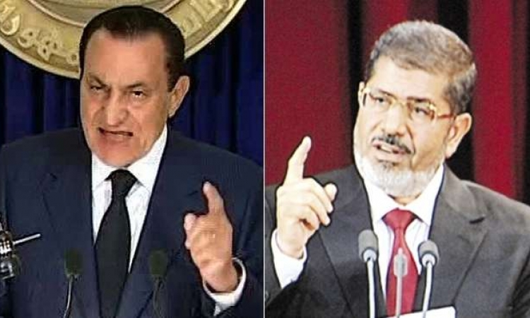 كيف يستقبل رئيسا مصر السابقين مبارك ومرسي عيد الاضحي المبارك ؟
