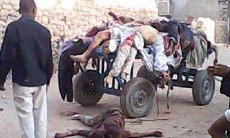 """""""مذبحة أسوان"""" تشعل مواقع التواصل الاجتماعي"""