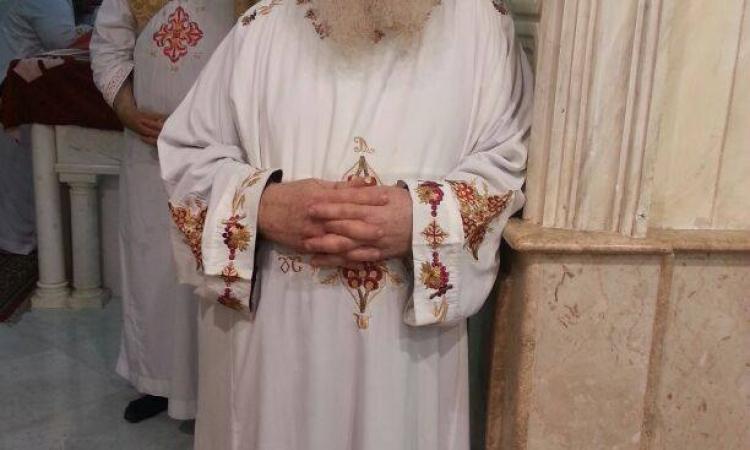 بالصور.. تواضروس يوفد مندوبا لمطرانية سوهاج في قداس الأربعين لشهداء ليبيا