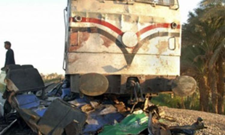 مصرع سائق قطار الإسماعلية بورسعيد إثرحادث تصادم مع لودر