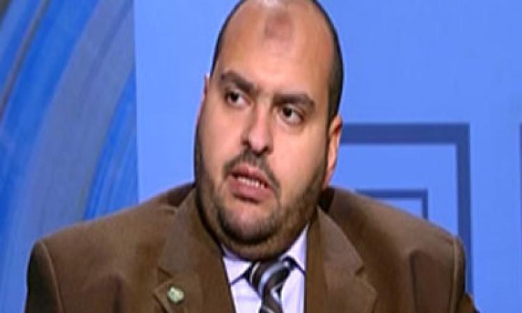 حبس ياسر محرز المتحدث بإسم الحرية والعدالة 15 يوما