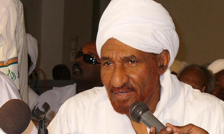 اعتقال زعيم المعارضة السوداني الصادق المهدي