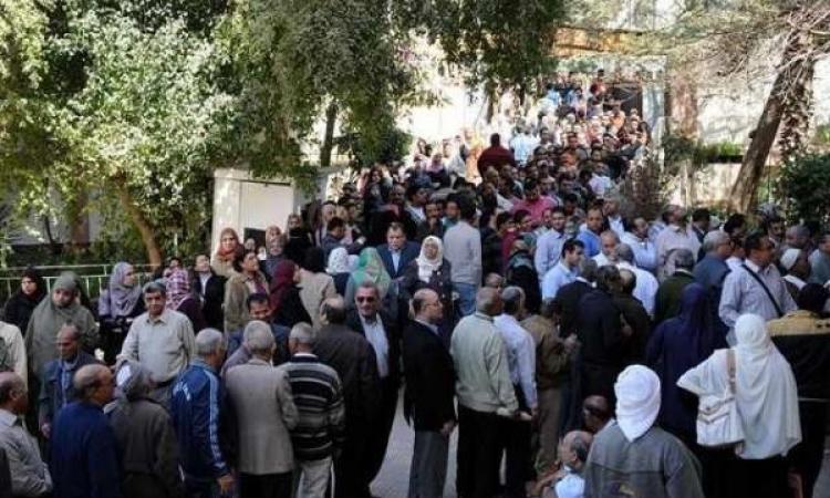 زيادة إقبال الناخبين على لجان الرئاسة بالقلوبية بعد انكسار حرارة الجو