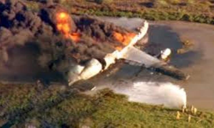 تحطم طائرة في لاوس بتايلندا على متنها وزيرا الدفاع والأمن ومسؤولون آخرون