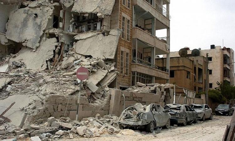 مصرع وإصابة أكثر من 84 شخصا جراء انفجار سيارة ملغومة بريف حماة