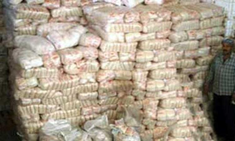 ضبط 4 أطنان سكر داخل مصنع بدون ترخيص بالإسكندرية