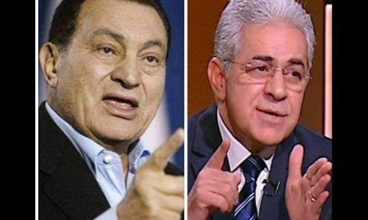صباحي لمبارك: «مش هرد عليك وانت في السجن».. ولـ«السيسي»: «الحمل ثقيل»