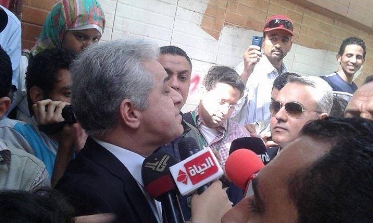 بالفيديو.. «صباحي» في المهندسين للإدلاء بصوته بانتخابات الرئاسة