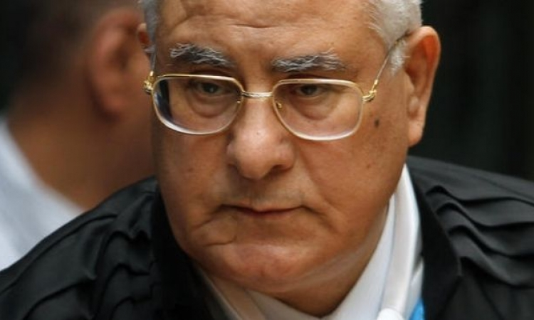عدلى منصور فى زيارة رسمية لقناة السويس الجديدة