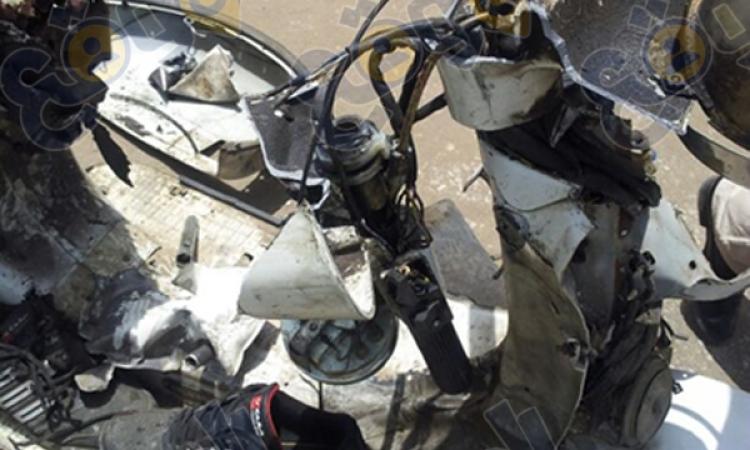إبطال مفعول قنبلة شديدة الانفجار داخل خط الغاز الرئيسى فى مدينة العاشر