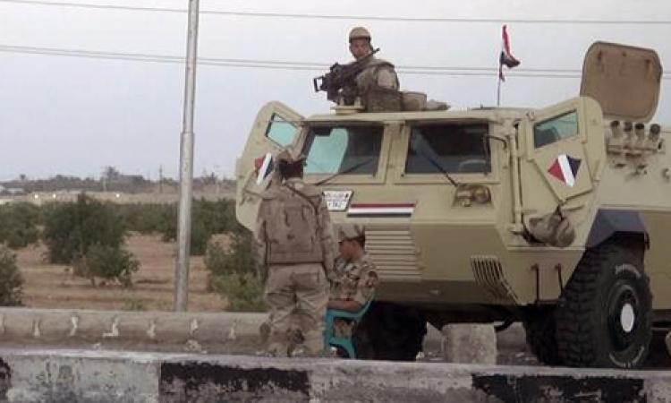 إصابة مجند برصاص مسلحين مجهولين بوسط سيناء