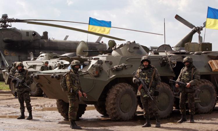القوات الأوكرانية تواصل حملتها العسكرية في محيط سلافيانسك