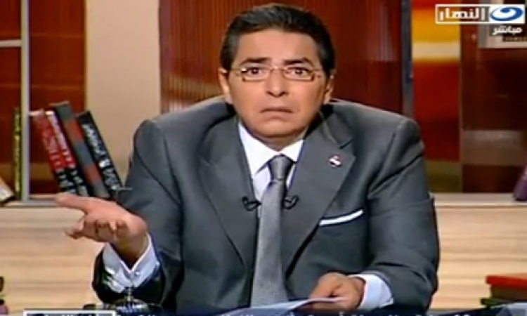 """بالفيديو .. محمود سعد بعد عودته من الإيقاف: """"ياما دقت عالراس طبول"""""""