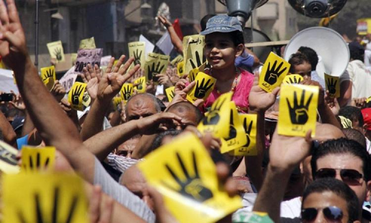 مسيرة لأنصار جماعة الإخوان في الطالبية بالجيزة تتسبب في حدوث ارتباكا مروريا