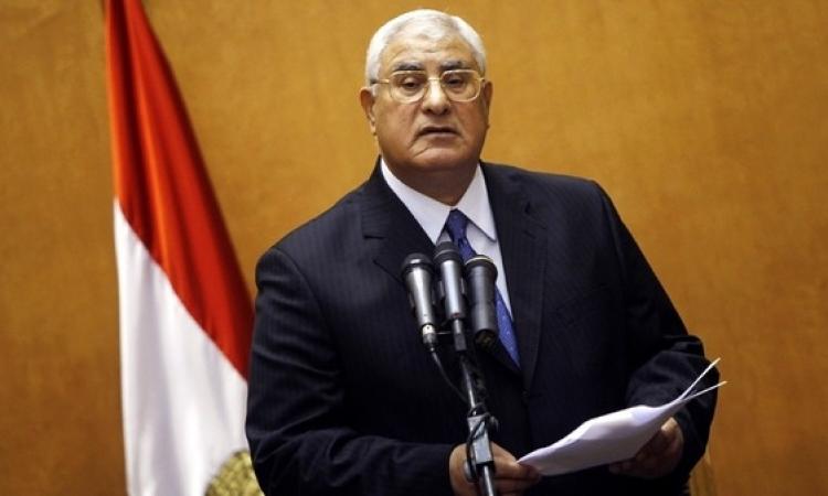 رئاسة الجمهورية تشكر المجتمعين أمام «الاتحادية» تعبيراً عن تقديرهم لـ«منصور»