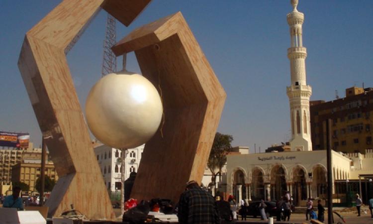 مصدر أمني: ضبط 5 من أنصار مرسي إثر اقتحام ميدان رابعة وحرق النصب التذكاري