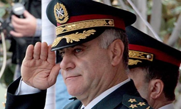 قائد الجيش اللبنانى يبحث مع السفير البريطانى التعاون العسكري