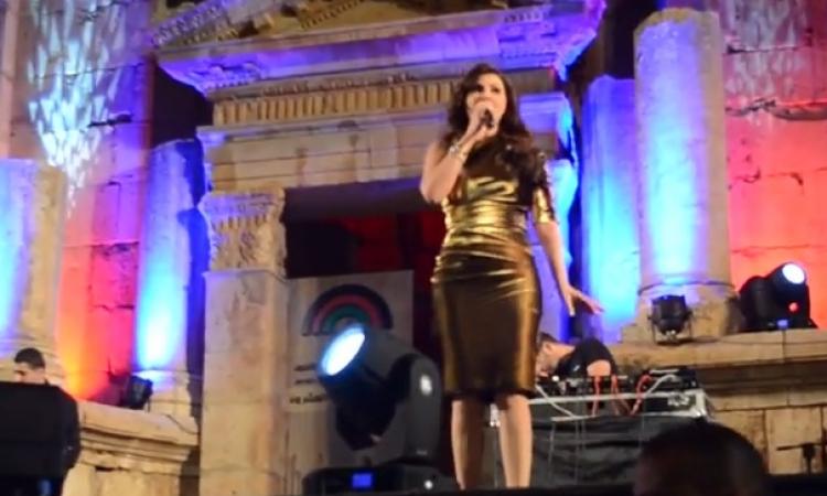 بالفيديو .. إليسا تتألق في مهرجان جرش بالأردن