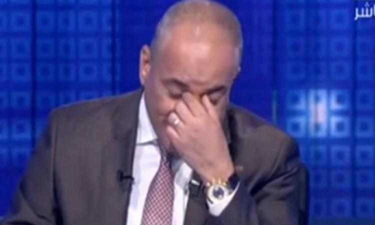 بالفيديو.. أحمد موسى يبكي على الهواء بعد تبرع مواطن بـ«جنيه» لدعم الاقتصاد