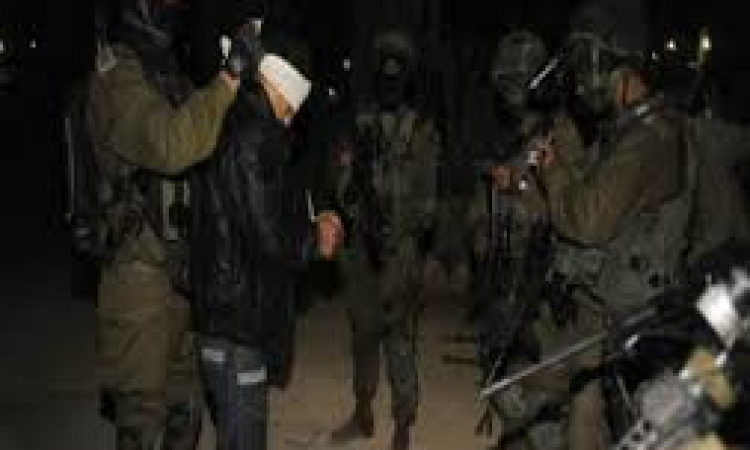 الجيش الإسرائيلي يواصل الاعتقالات بالضفة الغربية