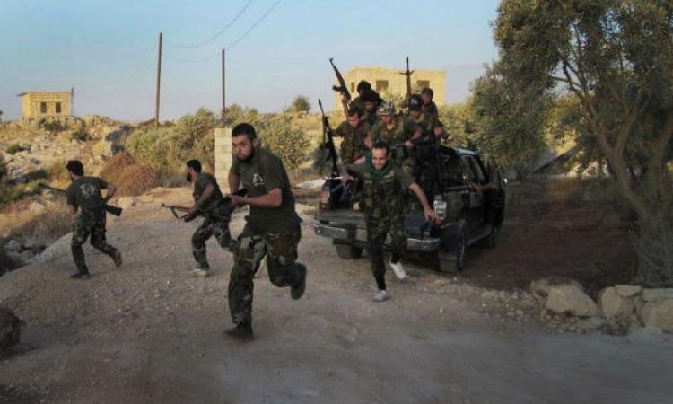 اشتباكات بين مقاتلي «داعش» ومسلحي المعارضة شمال سوريا