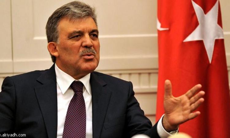 الرئيس التركي جول يهنىء السيسي بمناسبة توليه مهام منصبه