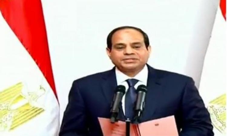 السيسي: أقسمت على احترام الدستور الذي يؤكد مدنية الدولة وحرية المواطن