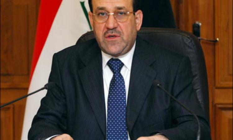المالكي: الموصل لم تسقط والذي سقط هم السياسيون الذين راهنوا على اسقاط العراق