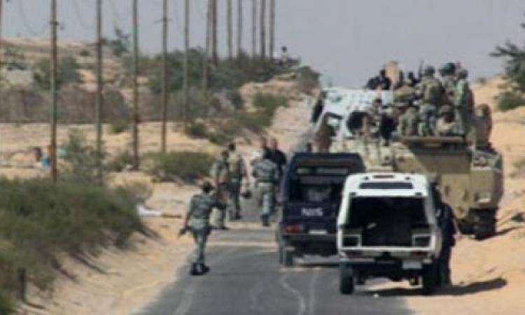 مصادر أمنية: مقتل 10 «تكفيريين» جنوب الشيخ زويد