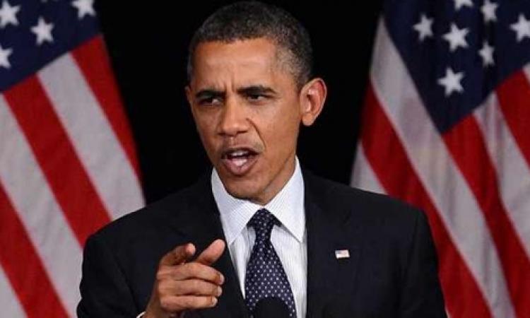 """أوباما يدين قتل """"داعش"""" لبريطاني ويتوعد بالقصاص"""