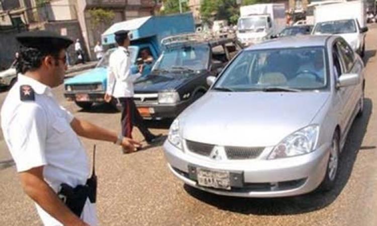 ضبط 40 مطلوبا و192 مخالفة مرورية في شمال سيناء