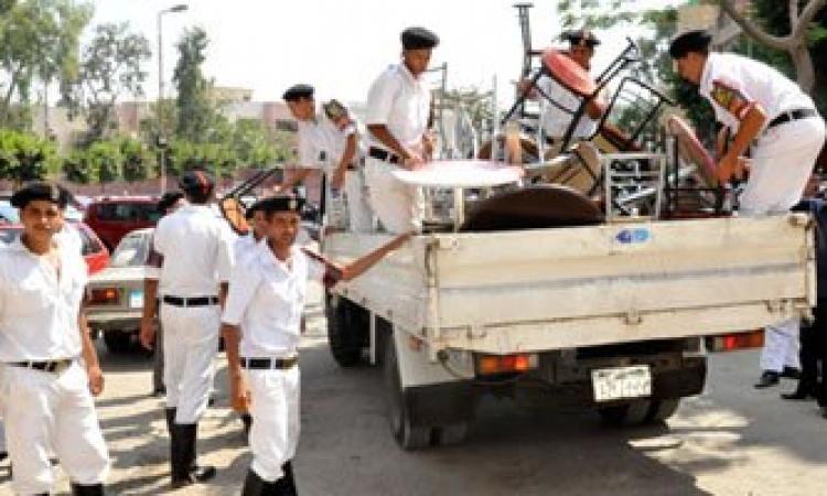 بالفيديو.. «مرور القاهرة»: 40 حملة أمنية لإزالة الإشغالات.. وسنطبق القانون بكل حسم