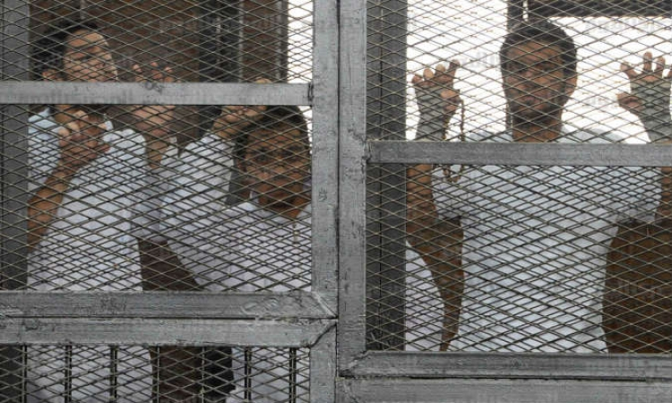 الصحفي محمد فهمي المتهم في خلية الماريوت: قبلت العمل بالجزيرة بعد أن صرحت لي إدارة القناة بأن عملهم في مصر قانوني